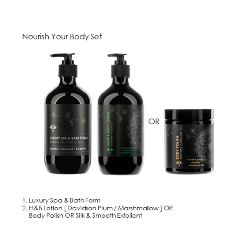 [ 低至8折 ] Botany Essentials Nourish Your Body Set