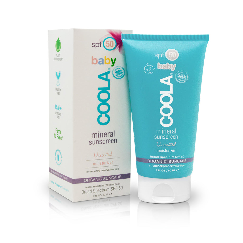 Coola Baby SPF 50 Unscented Moisturizer 90ml