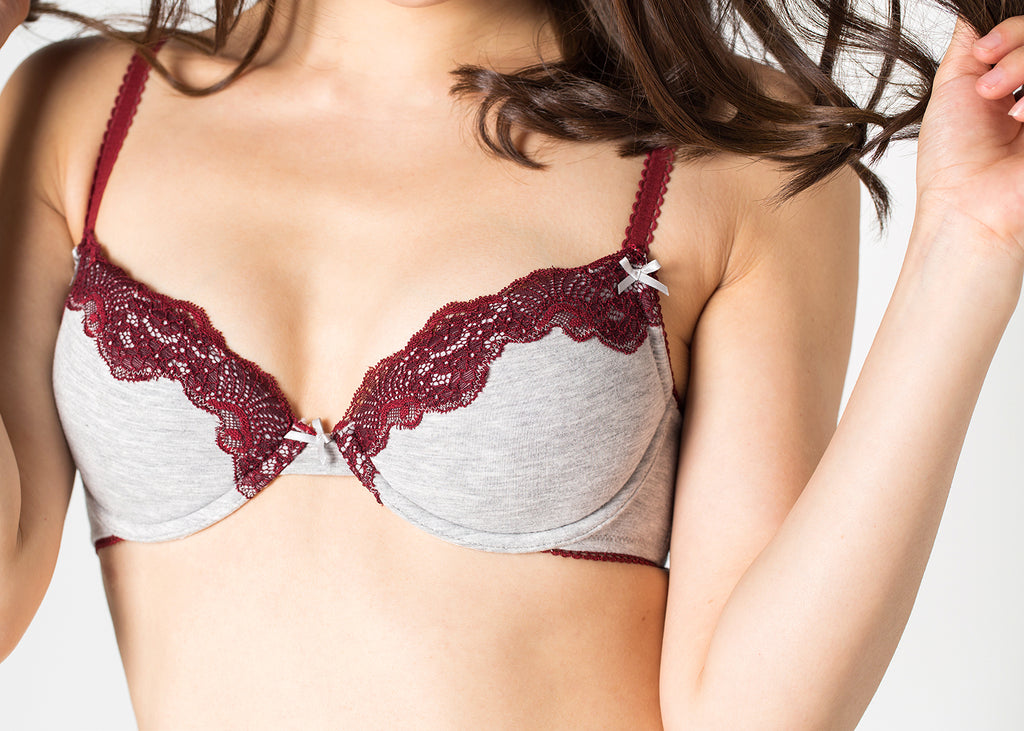 [ Buy 1 Get 1 Free ]  Brie Cotton Bra Set