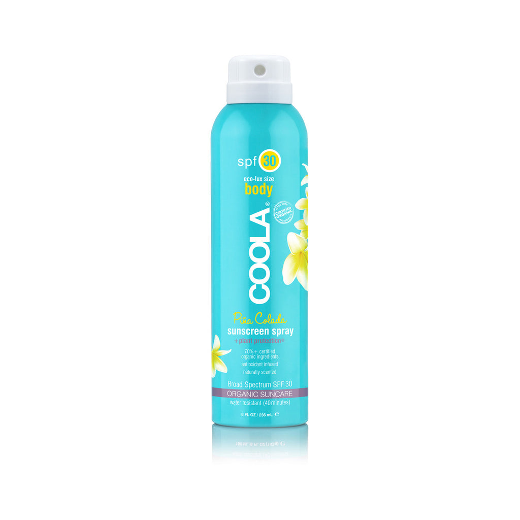 Coola Sport SPF30 Pina Colada Organic Sunscreen Spray 236ml