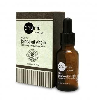Anumi Jojoba Oil Virgin - Certified Organic 20ml /200ml 初榨荷荷巴深層滋潤精華油 - 有機認證 20ml /200ml