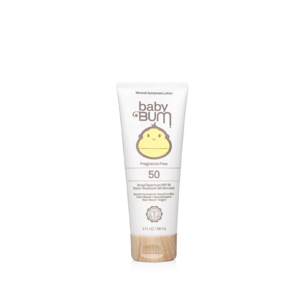 Baby Mineral SPF 50 Sunscreen Lotion-Fragrance Free 嬰兒礦物保濕防曬乳液 SPF50 (無香料配方)
