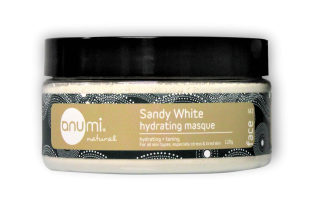 anumi Sandy White Hydrating Clay Masque 亮珍珠鎖水修護礦物護泥