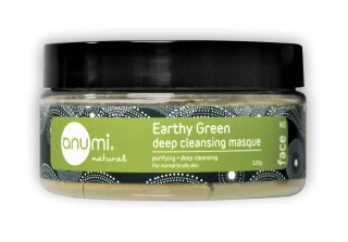 anumi Earthy Green Deep Cleansing Clay Masque 綠嶺土深層清潔礦物護泥