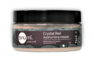 Anumi Crystal Red Moisturishing Clay Masque 寶石紅深層保濕滋潤礦物護泥