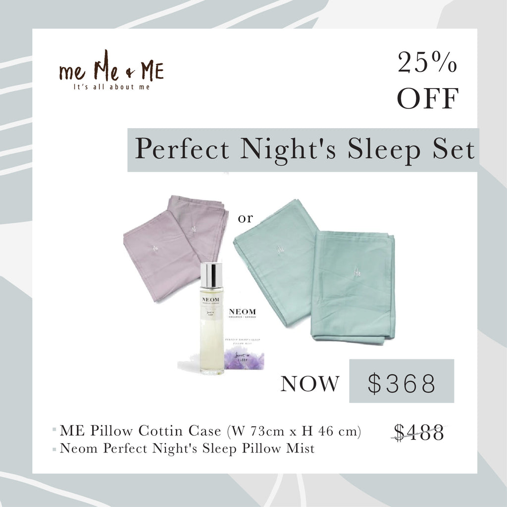 Perfect Night's Sleep Pillow Mist 連ME枕袋一對