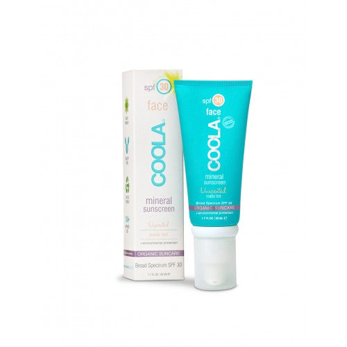 Coola Mineral Face SPF30 Unscented Matte Finish Tint 50ml