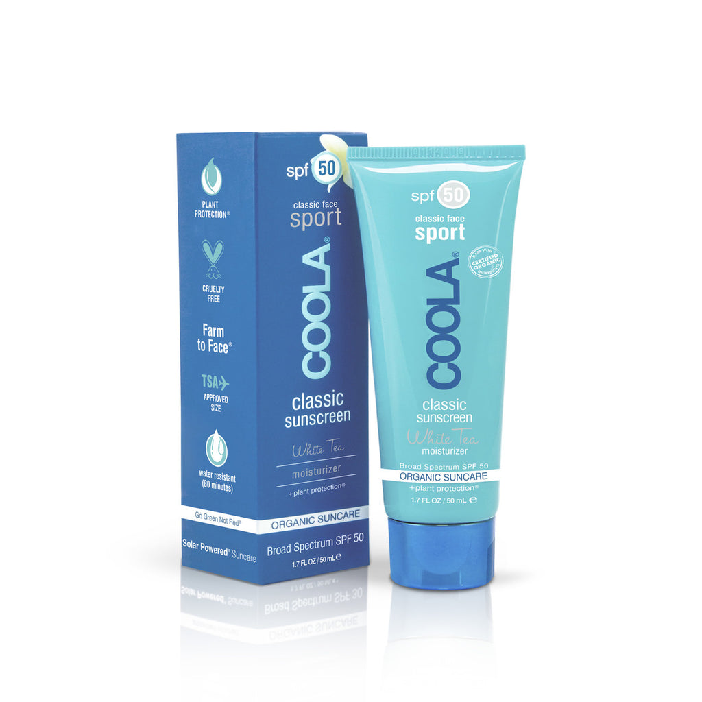 Coola Classic Face SPF50 White Tea Moisturizer 50ml