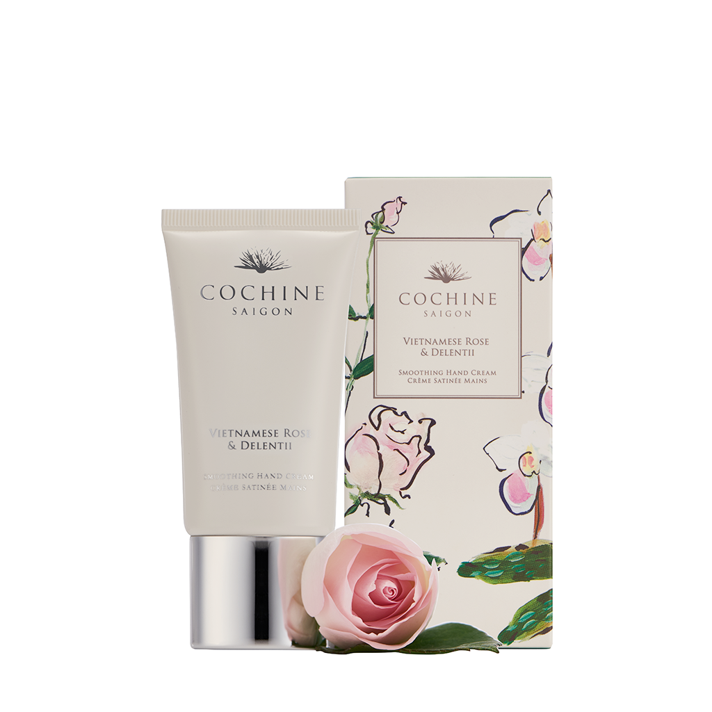 Cochine Hand Cream 50ml VIETNAMESE ROSE & DELENTII