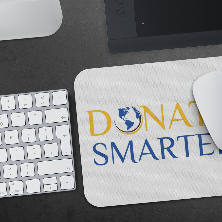 Donate Smarter Mouse Pad