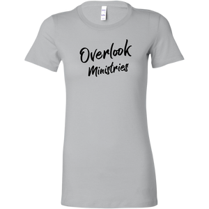 Overlook Ministries Fitted Shirt (Black Print Design)
