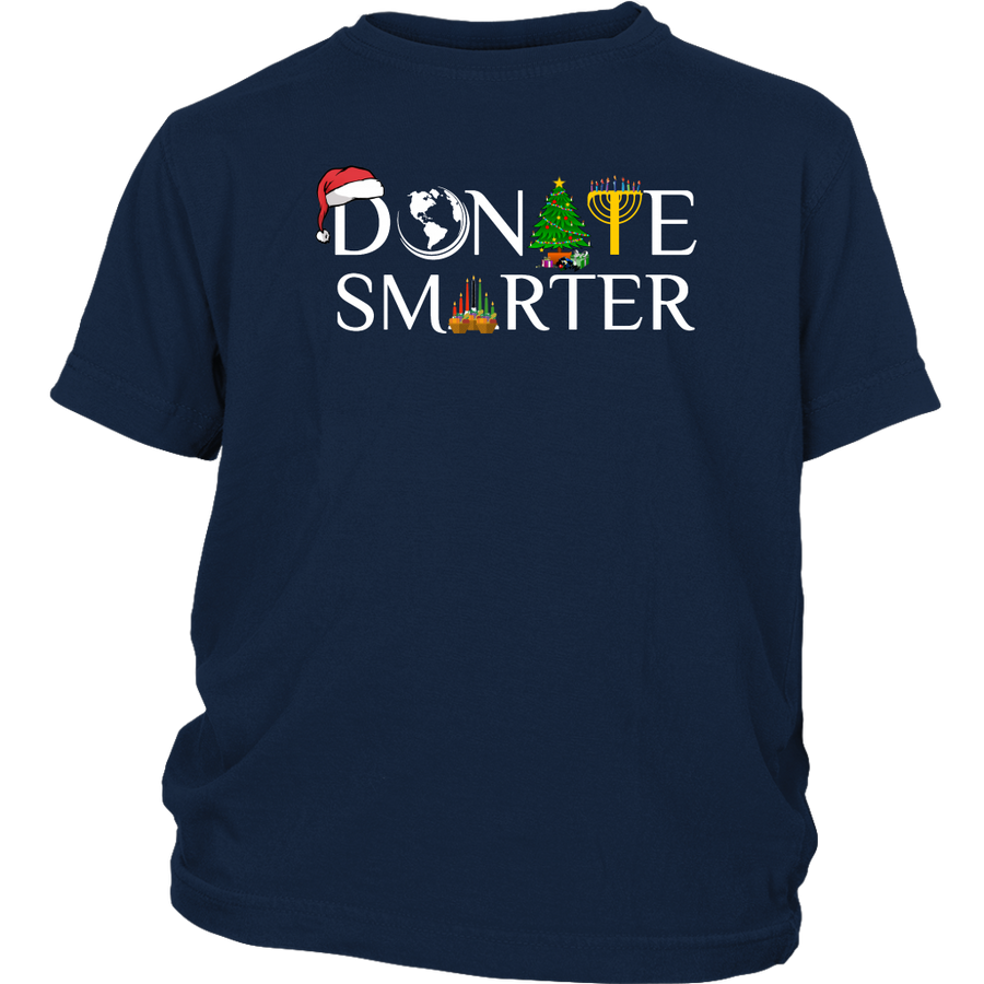 Donate Smarter Christmas - Youth Shirt