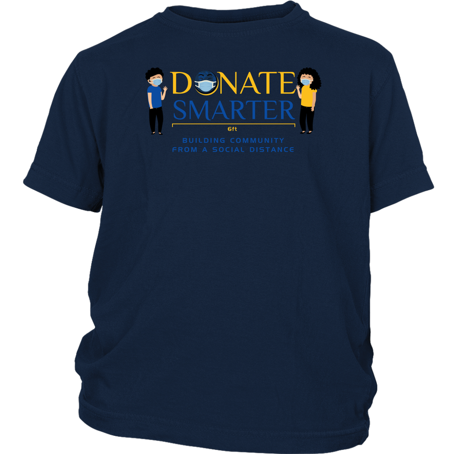Donate Smarter Social Distance - Youth Shirt
