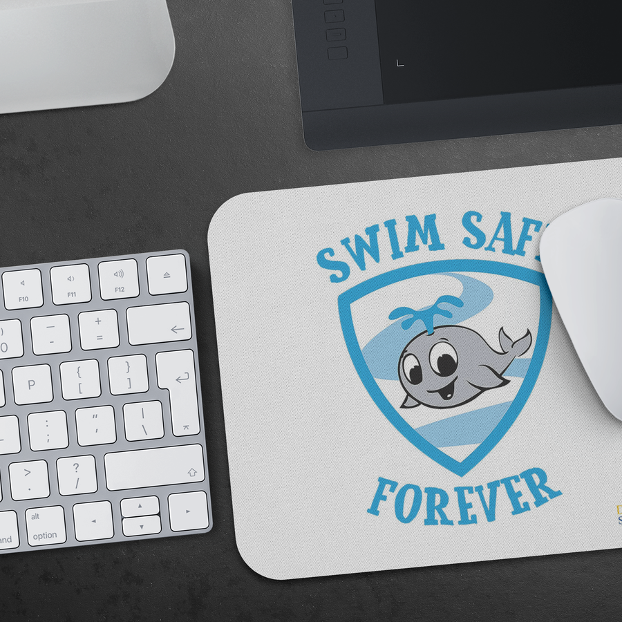 Swim Safe Forever - Mousepad
