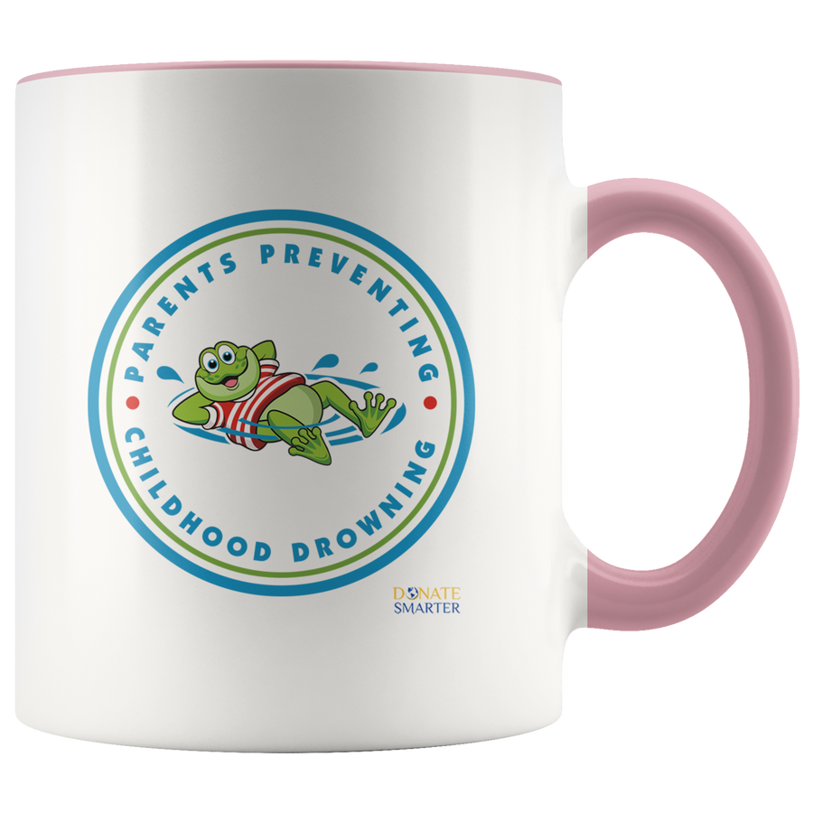 Parents Preventing Childhood Drowning - Accent Mug