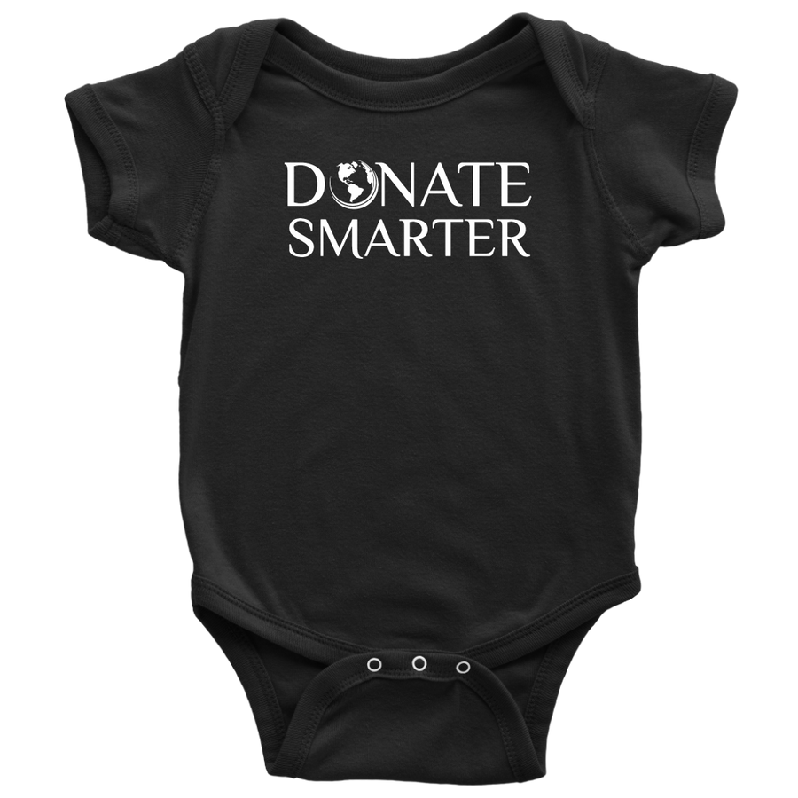Donate Smarter Baby Bodysuit