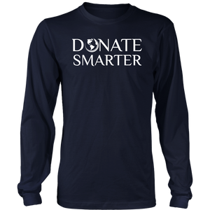 Donate Smarter - Long Sleeve Shirt