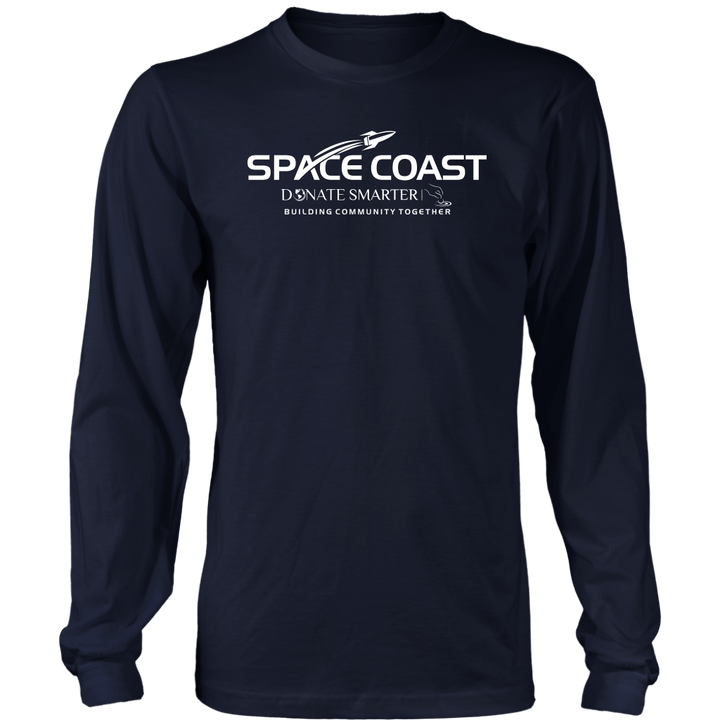 Space Coast Donate Smarter - Long Sleeve Shirt
