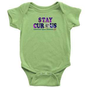 Stay Curious - Baby Bodysuit (American Space Museum)
