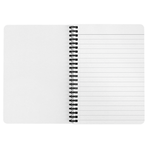 Donate Smarter - Black Spiral Notebook
