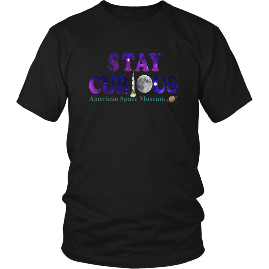 American Space Museum Stay Curious - Shirt