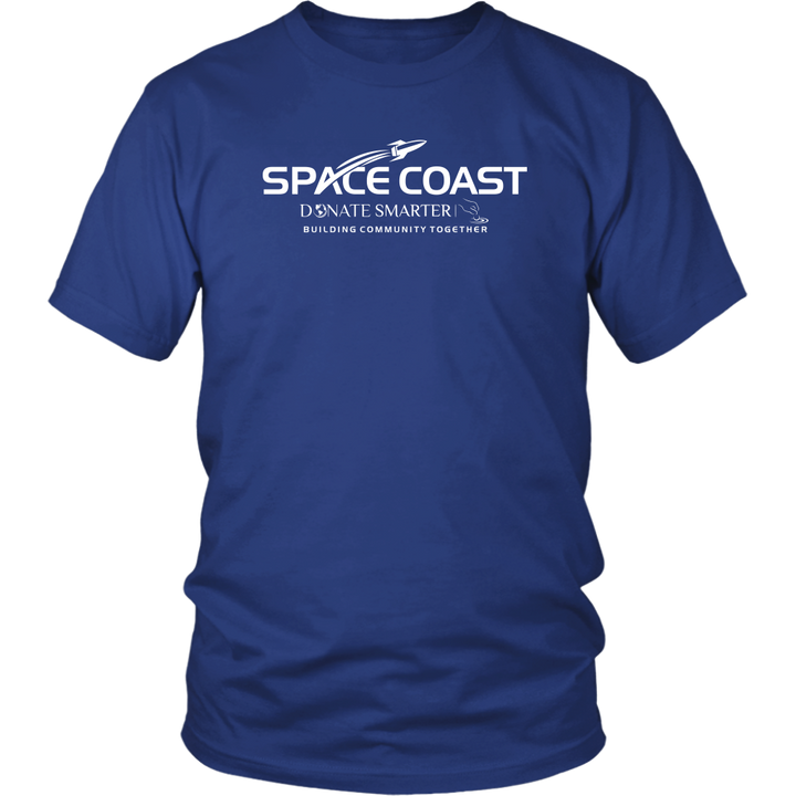Space Coast Donate Smarter Shirt