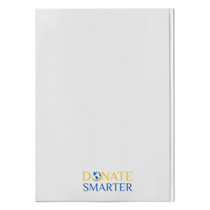Donate Smarter Hardcover Journal