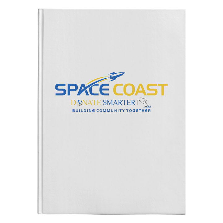Space Coast Donate Smarter - Hardcover Journal