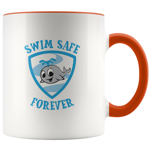 Swim Safe Forever - Accent Mug