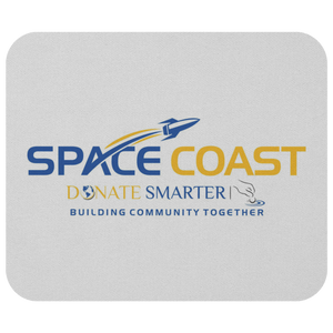 Space Coast Donate Smarter - Mousepad