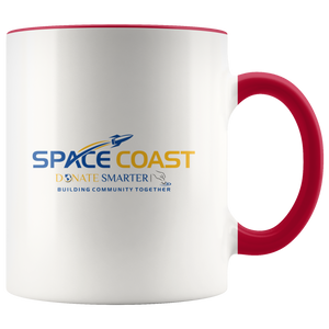 Space Coast Donate Smarter - Accent Mug