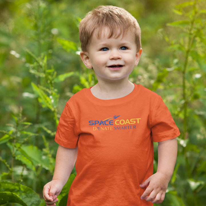 Space Coast Donate Smarter - Toddler T-Shirt