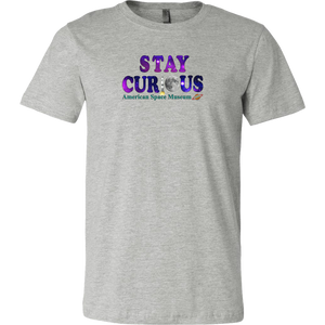Stay Curious - Fitted Shirt (American Space Museum)