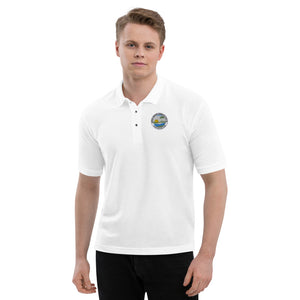 Artificial Reefs Int'l Preservations Trust, Inc. Casual Embroidered Men's Polo Shirt