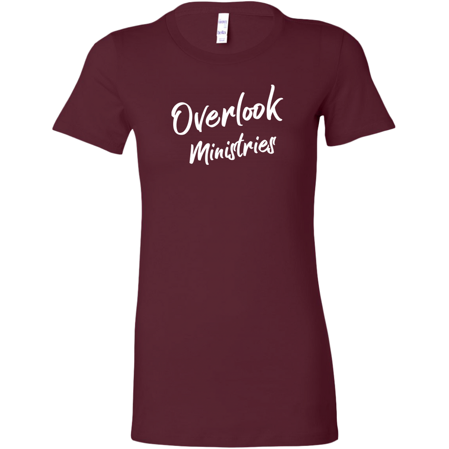 Overlook Ministries Fitted Shirt (White Print Design)