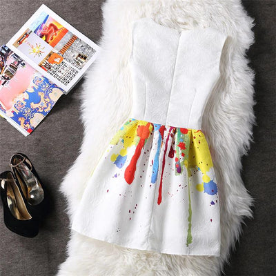 Women's Rainbow Summer Dress