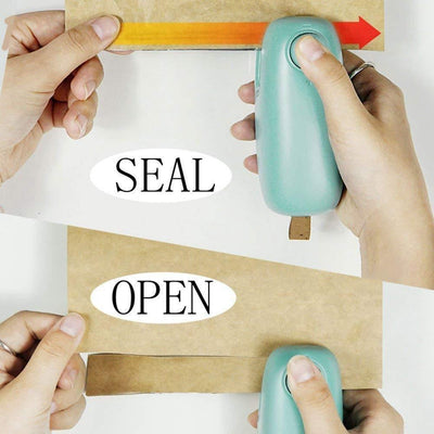 2 in 1 Portable Package Re-Sealer