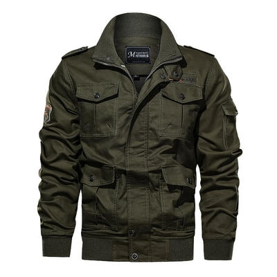 Men's Cotton Cargo Jacket
