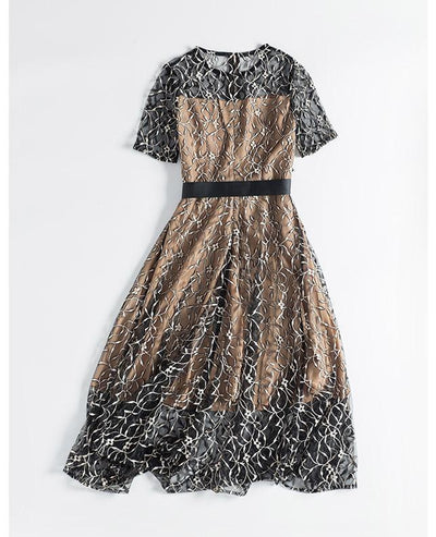 Women's Lace Embroidery Dress