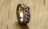 Men's Rainbow Ring