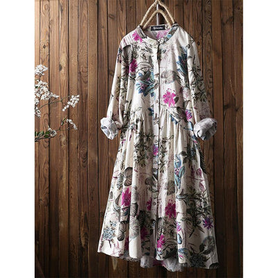 HommyShop Floral Vintage Dress