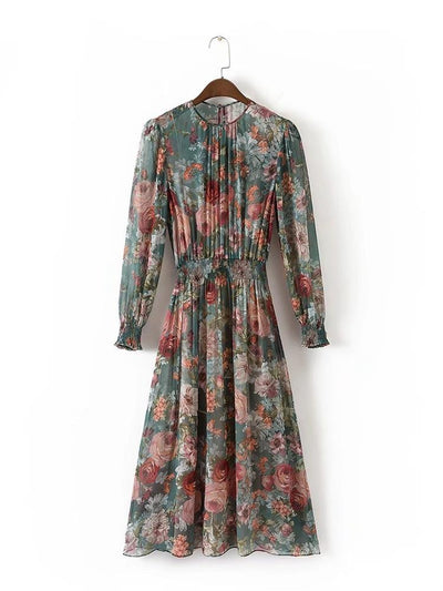 HommyShop Long Sleeve Summer Dress