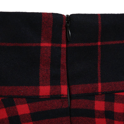Women's Plaid Mini Skirt