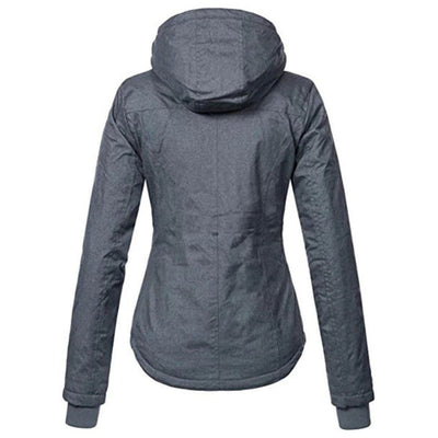 Women's Slim Hooded Jacket