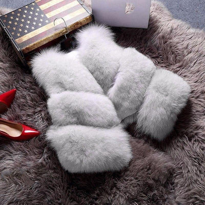 Women's Winter Fur Coat