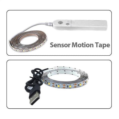 LED Motion Sensor Waterproof Light Belt