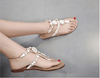 Sandals With Rhinestones Crystals