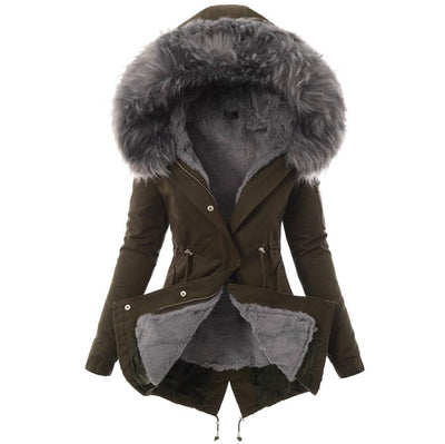 women's thick winter jacket
