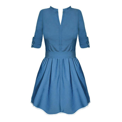 Women's Blue Spring Dress