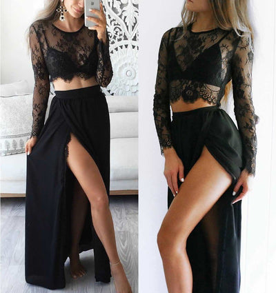 Women's Lace Dress and Skirt